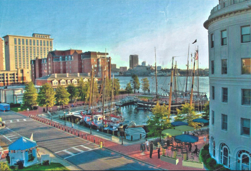 Rendering of Portsmouth, Va location